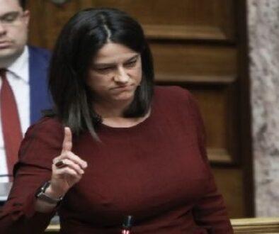 discussion; lawmaker; Parliament; plenary; plenum; speech; Βουλή; Κοινοβούλιο; βουλευτής; ολομέλεια; ομιλία; συνεδρίαση; Νίκη Κεραμέως; Niki Kerameus;