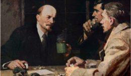 Λένιν με εργάτες