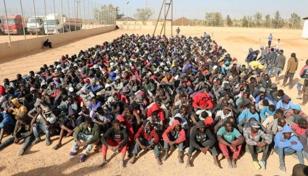 Λιβύη-σκλαβοπάζαρα