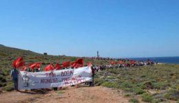 Μ-Λ ΚΚΕ επίσκεψη στη Μακρόνησο