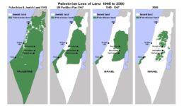 Παλαιστίνη-χάρτης