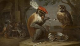 Τα καμώματα της μαϊμούς-Ντάβιντ Τένιερς ο νεότεροςDavid_Teniers_de_Jonge_-_Singerie