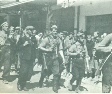 Τμήμα του ΕΛΑΣ εισέρχεται στην Καβάλα