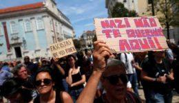 αντιφασιστική διαδήλωση