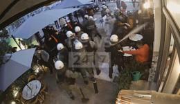 αστυνομική βία γαλάτσι