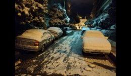καιρός χιόνι