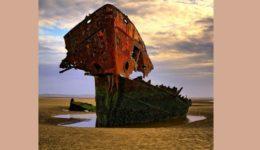 καράβι -κουφάρι πλοίου Λάουθ Ιρλανδίας