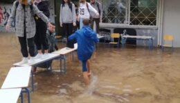 πλημμυρισμένα σχολεία