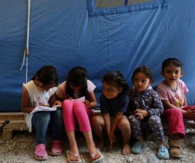προσφυγόπουλα Μόρια
