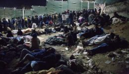 πρόσφυγες Μόρια