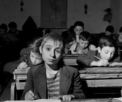 ITALY. San Nicola da Crissa. 1950. Elementary school.