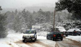 χιόνι - κλειστοί δρόμοι