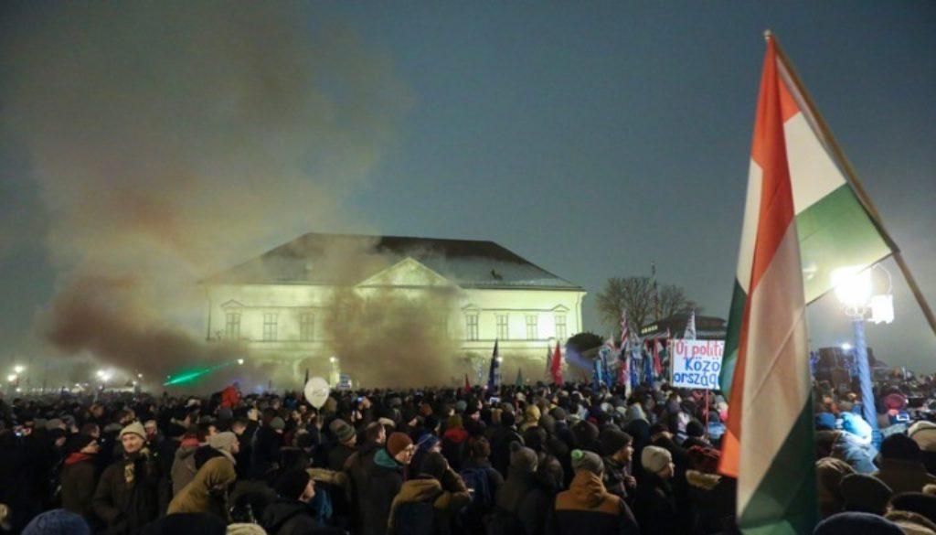 Βουδαπέστη HUNGARYPOLITICSOPPOSITIONRALLY