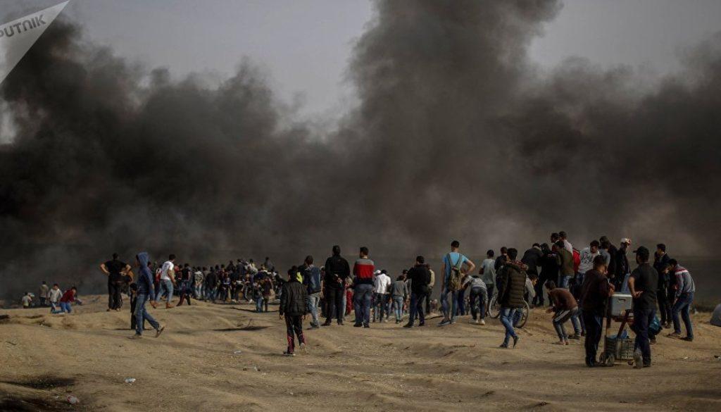 Γάζα διαδηλώσεις