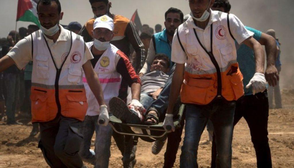 Γάζα τραυματίας