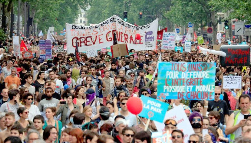 Γαλλία απεργία