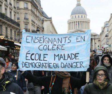 Γαλλία κινητοποιήσεις εκπαιδευτικών