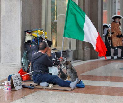 Ιταλία άστεγος