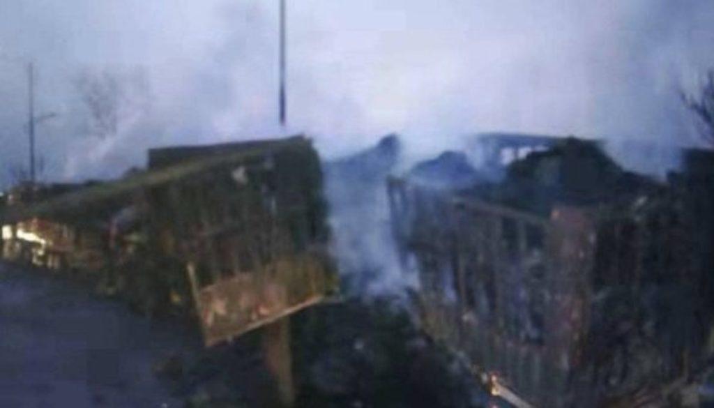 Κίνα έκρηξη