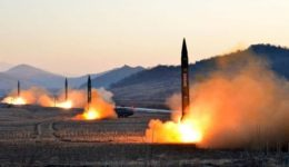 Κορέα- εκτόξευση πυραύλων