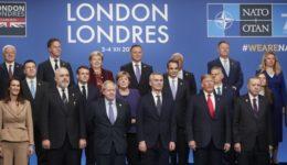 70 years; 70 χρόνια; anniversary; Boris Johnson; Donald Trump; Kyriakos Mitsotakis; leader; Leaders; London; NATO; Summit; Κυριάκος Μητσοτάκης; Λονδίνο; Μπόρις Τζόνσον; ΝΑΤΟ; Ντόναλντ Τράμπ; Σύνοδος Κορυφής; επέτειος; ηγέτες; ηγέτης;