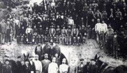 απεργία των εργατών του Λαυρίου