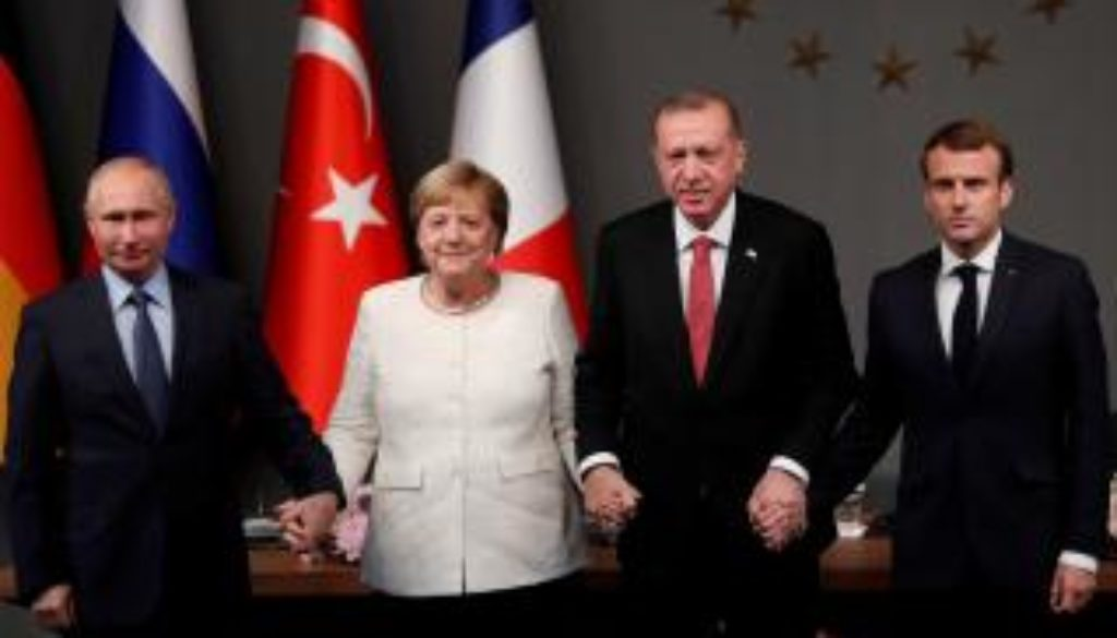 News conference after a Syria summit in Istanbul