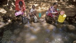 αφρική για λίγο νερό