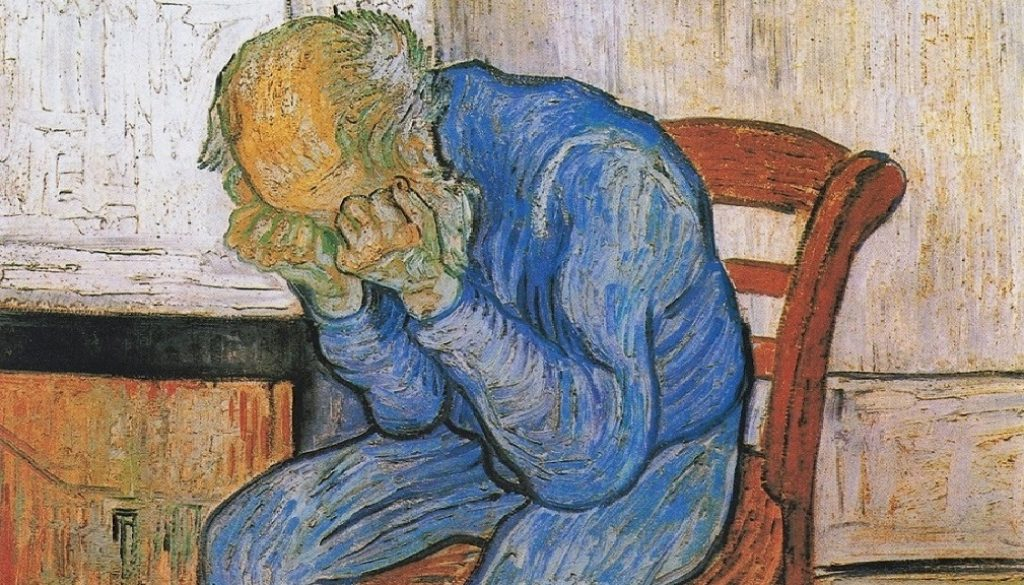 γέρος σε θλίψη-1