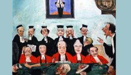 δικαστές-The-Wise-Judges-James-Ensor-oil-painting (2)