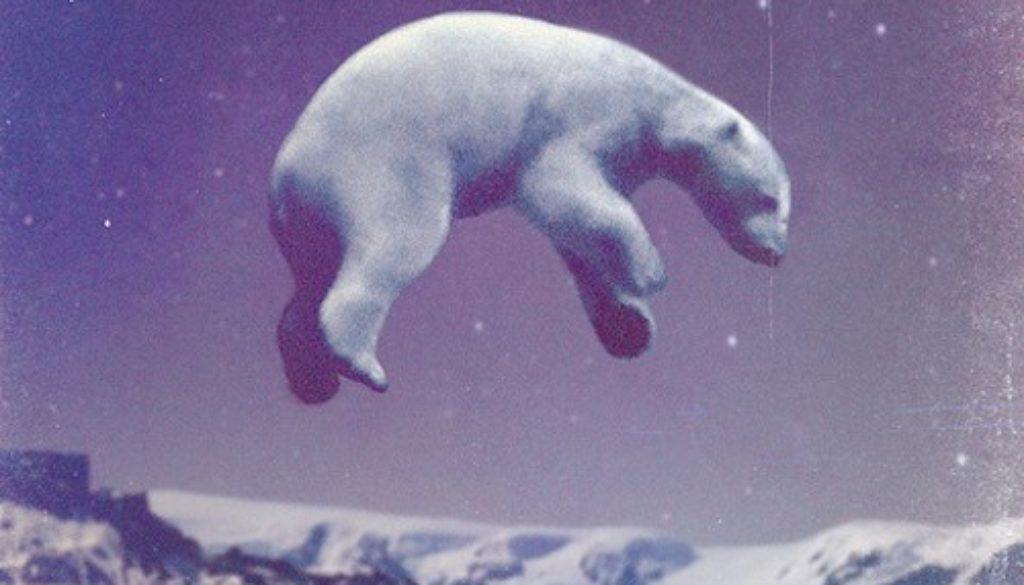 λευκή αρκούδα bear-woodcum