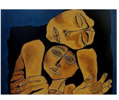 μάνα παιδί -Oswaldo Guayasamín900x660