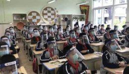 μαθητές μάσκες