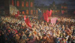 Λένιν ομιλία 1917