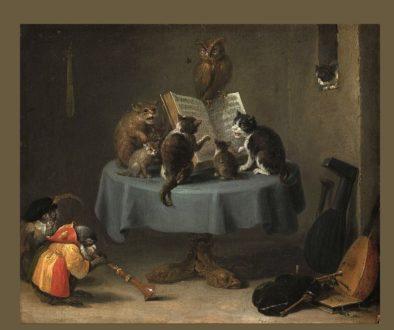 συναυλία γάτων-David Teniers -1
