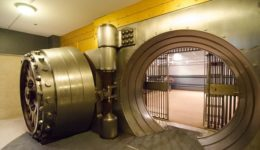 τράπεζα χρηματοκιβώτιο θυρίδες