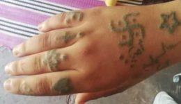 χέρι τατουάζ marocco-viasmos
