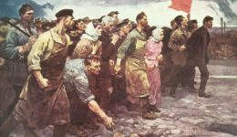 11.Artist-unknown-1917-January-Russia-Petrograd-Working-People-Arise-General-Strike-unknown-artist