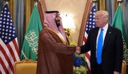 Τραμπ-πρίγκιπας Σαουδικής Αραβίας