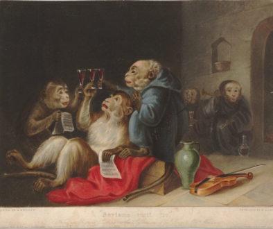Beviamo tutti tre [We Drink All Three], after Edmund Bristow, 1836