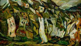 Chaim_Soutine_-_Les_maisons,_1921 - b
