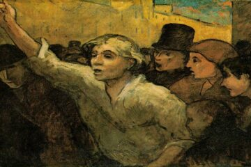 Daumier-The-Uprising-1860 -1α