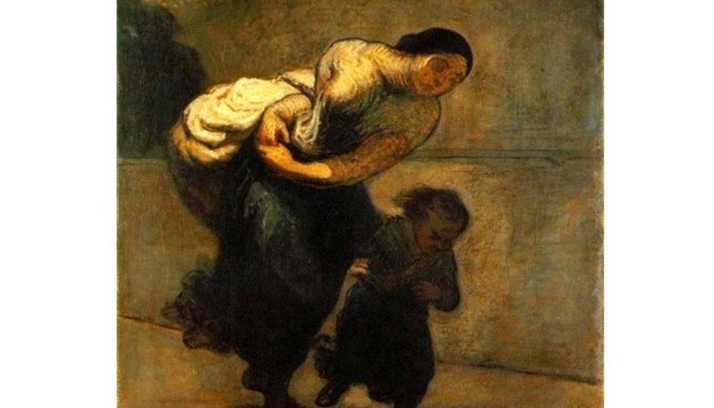 Daumier the-burden-the-laundress (2)
