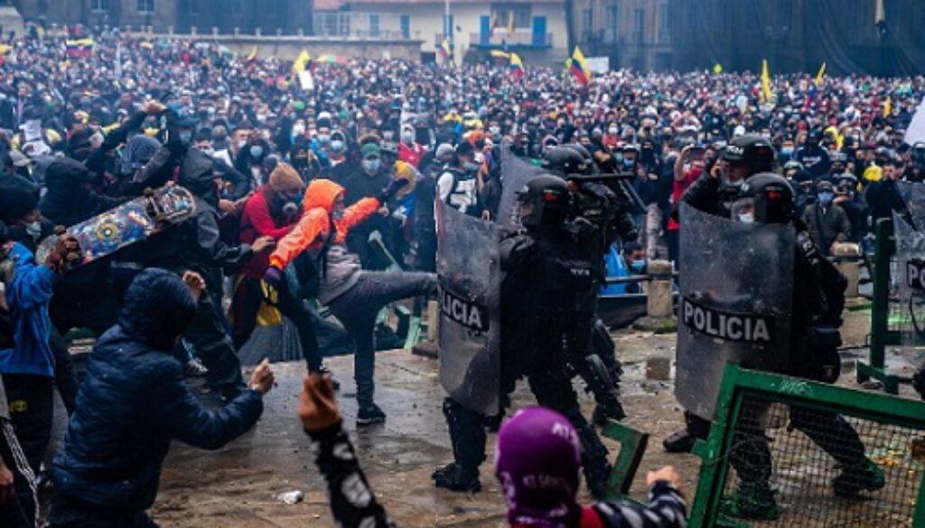 Disturbios-Colombia