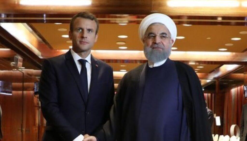 Iran-Rohani-demande-a-Macron-d-agir-contre-les-terroristes-bases-en-France