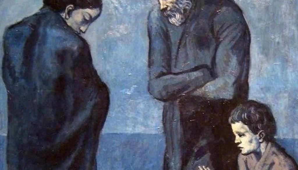 Picasso blue - φτωχοί