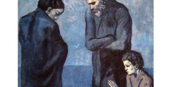 Picasso blue - φτωχός1