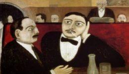 Tullio Garbari, Intellectuals de la Rotonde Cafe, 1925-διανοούμενοι - 2