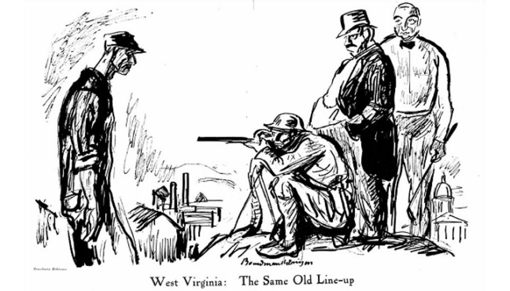 West_Virginia_the_same_old_line-up_blair_mountain_1921