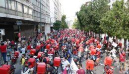 efood-διαδήλωση